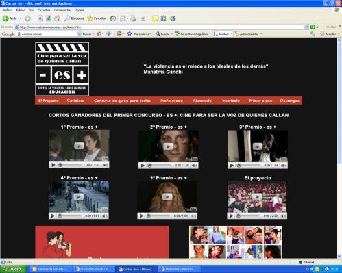 """Web del Proyecto """"- es +"""""""